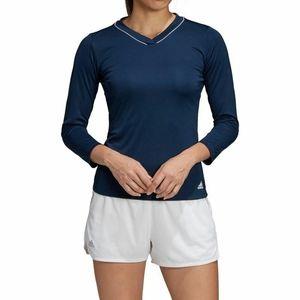 adidas Women's Club UV Protect ¾ Sleeve Club Top